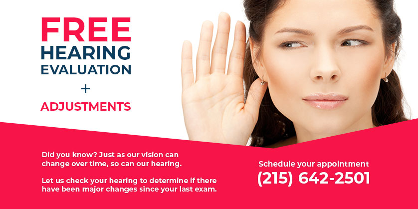 Free Annual Hearing Evaluation - Huntington, NY - Long Island, NY