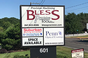 Office sign - Pennsburg, PA