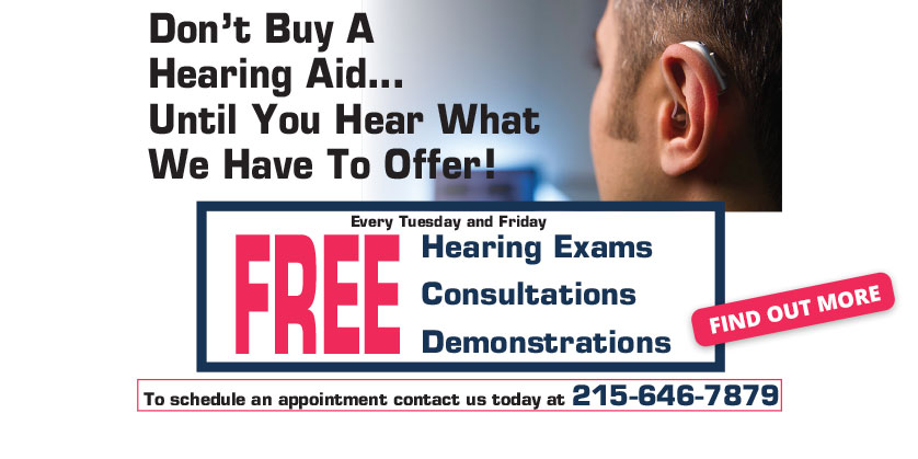 Free Hearing Services - Suburban Hearing Aid Center